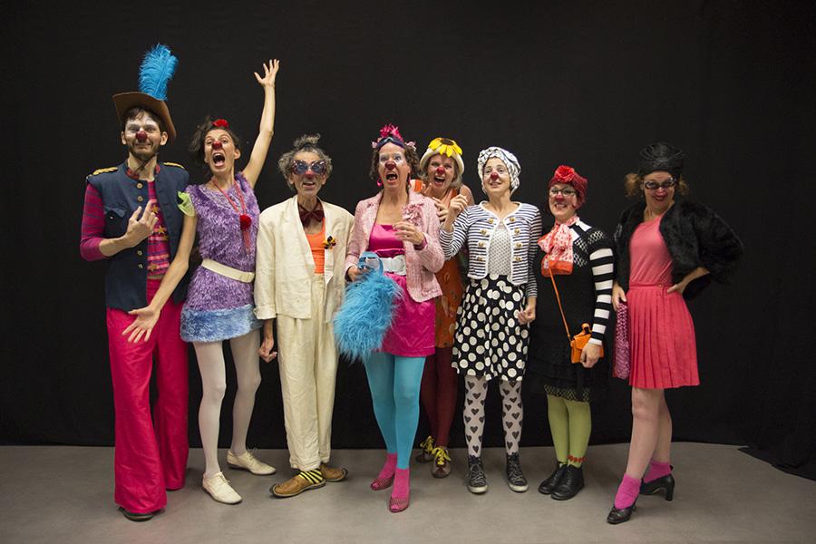 Les clowns - Prendre le soin de rire