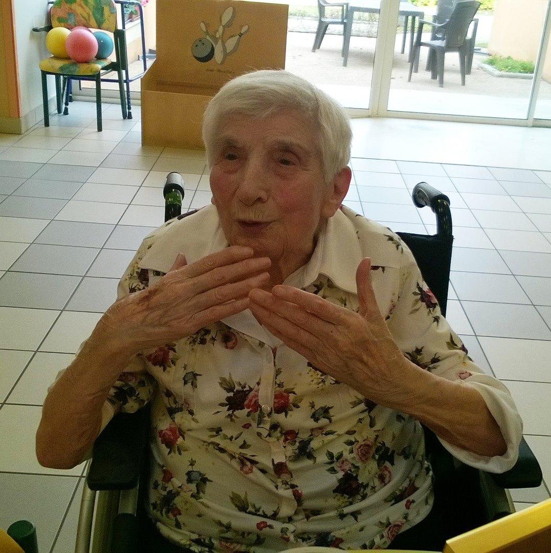 Les 90 ans de Anne